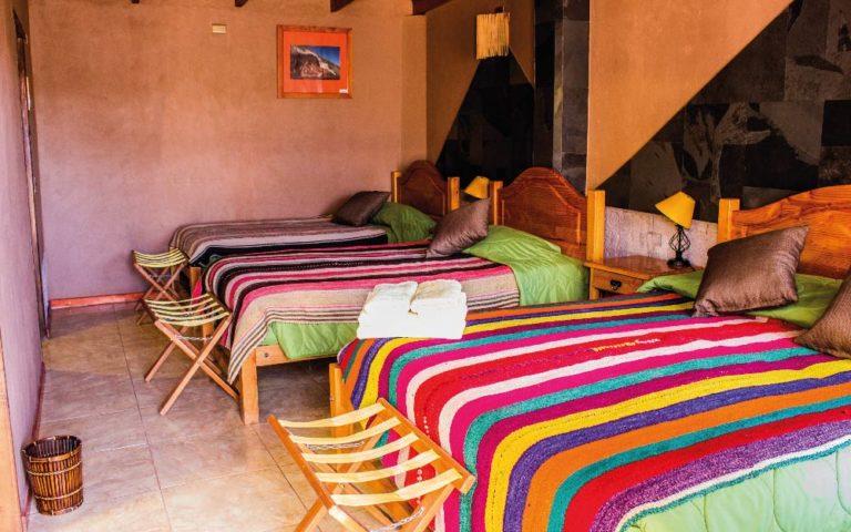 Habitación Triple Hotel Dunas San Pedro de Atacama Chile